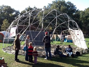 Geodesic Dome. By Jonathan Eisen, cc-by.